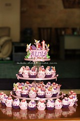 Tinkerbell Cupcake Tower