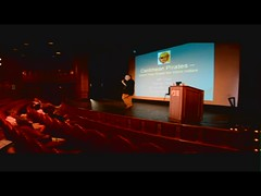 Jeff Clow - Start of my Pirates Lecture on the Grand Princess (Jeff Clow) Tags: cruise video pirates caribbean lecture grandprincess jeffclow