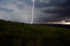 DSC_0113 (jreidfive) Tags: storm green field clouds virginia farm awesome gray roanoke strike lightning