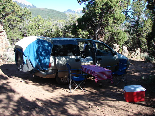 The minivan, Manti-La Sal National Forest