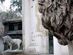 Guardianes I (Jorgelixious) Tags: cemetery general cementerio lions coolpix fujifilm leones s5600