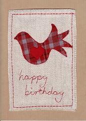 happy birthday dove (check) (katydid.org.uk) Tags: handmade katydid wwwkatydidorguk