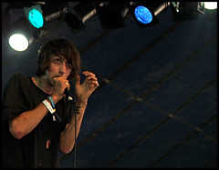 Faris Rotter (Steph Edwards) Tags: uk festival stage livemusic glastonbury tent 2007 johnpeel thehorrors farisrotter