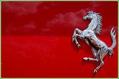Made in Italy (Ketosea) Tags: red sky horse france car sport clouds silver reflections d50 nikon power deluxe flag ferrari massa soe supercar raikkonen important maranello madeinitaly supershot p1f1 ketosea top20red forzaferrari colourartaward magnycours2007 danilomall