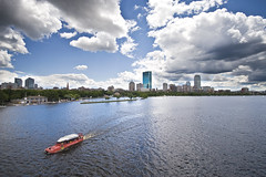 quack quack (richietown) Tags: topv111 boston clouds canon raw massachusetts charlesriver july esplanade johnhancock prudential duckboat 30d bostonist sigma1020mm hatchshell richietown anawesomeshot