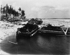 Wrecked LVTs II - Tarawa (afigallo) Tags: war pacific wwii amtrak ww2 marines engineers tarawa lvt betio
