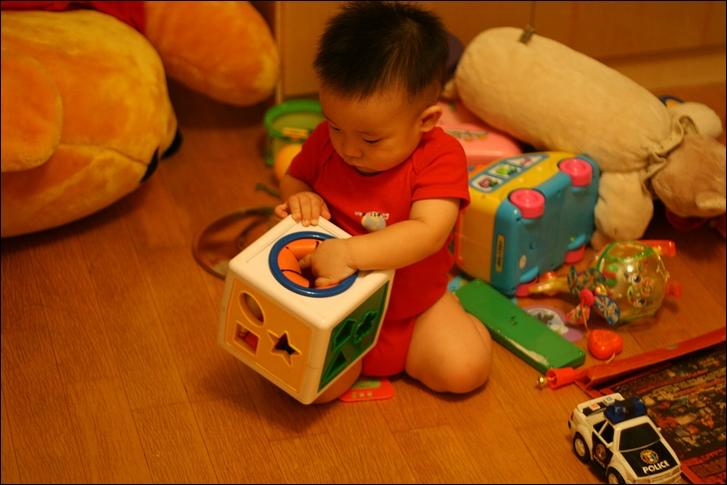 彥小白房玩(快1歲)15