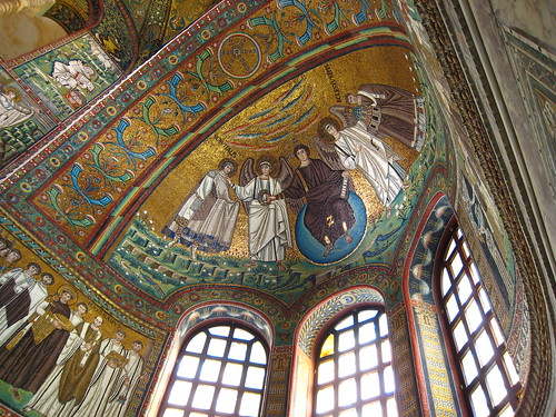 Apse Mosaic, San Vitale, Ravenna