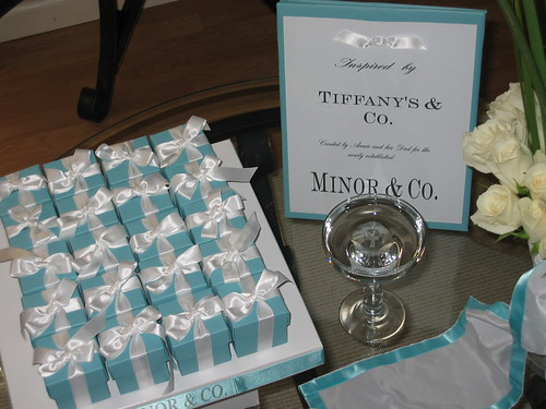 Tiffany blue is trademarked and all of the people that have a Tiffany