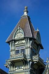 Carson Mansion detail II