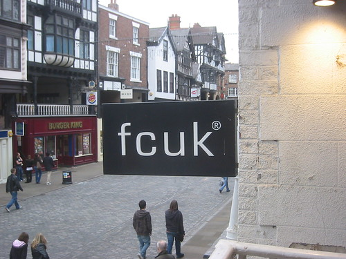 fcuk in Chester, by fishfoot