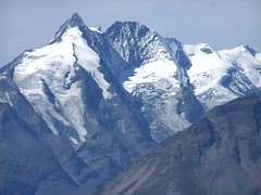 Groglockner mit Hofmannskees (rudi_valtiner) Tags: schnee snow mountains alps sterreich salzburg ice austria nationalpark glacier berge alpen gletscher eis groglockner hohetauern pasterze hohersonnblick glocknerwand hofmannskees