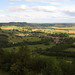 The view of Burgundy from Vézelay