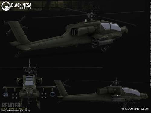 Black Mesa helicóptero Apache