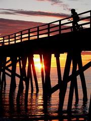 On Your Bike! (Mowling) Tags: sunset beach bike bicycle silhouette pier bmx legs jetty australia pylon icecream adelaide grange mowling onlyyourbestshots shannonmowling