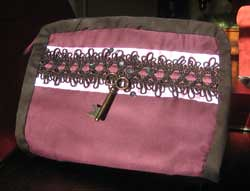Venetian Purple Cosmetics Bag