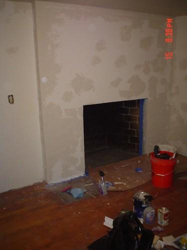 basement plaster