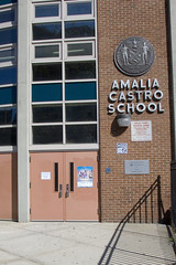 Alphabet/City: Amalia Castro School by litherland, on Flickr