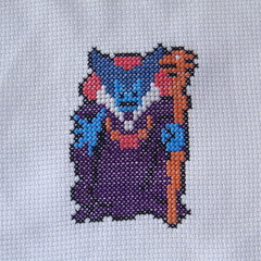 Dragonlord (benjibot) Tags: crossstitch crafts videogames crop nes dragonwarrior reshoot