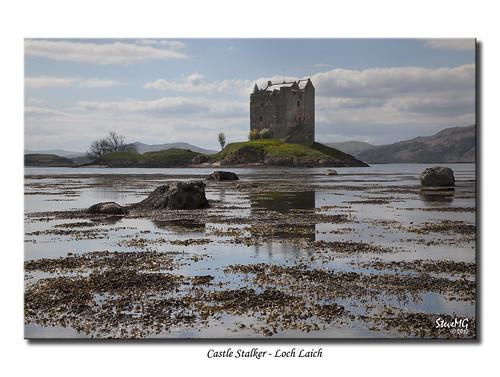 Castle Stalker - Loch Laich