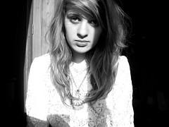 Self-portrait. (indiaindo) Tags: light shadow portrait white black self dark necklace dress bright