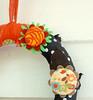 fabric rag wreaths RagHearth (14) (heatherknitz) Tags: wreath walldecor wallhanging feltflowers buttonflowers buttonwreath ragwreath fabricwreath decorativewreath doorwreaths fabricragwreath raghearth 10inchwreath