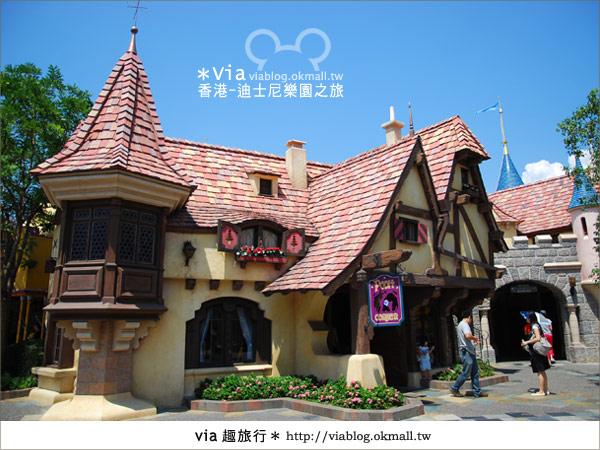 【香港自由行】跟著via玩香港(1)~爆走香港迪士尼樂園36