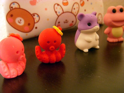 Kawaii Eraser Cuteness