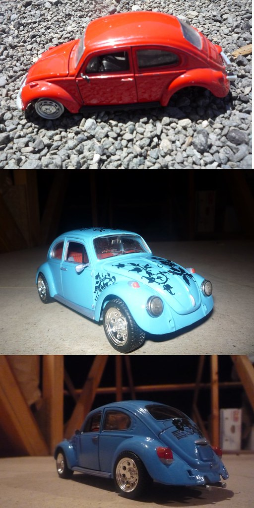 1973 VW Beetle - Before and After