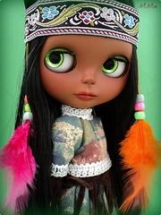 A Native American Girl - ADOTA PELA MAMÃE QUERIDONA SAN HELEN, A CABOCLA TEM MUITA SORTE, AINDA VAI MORAR EM RECIFE!! =0D