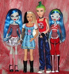 (Laila X) Tags: monster happy high doll dolls d mattel deuce gorgon flava yelps ghoulia