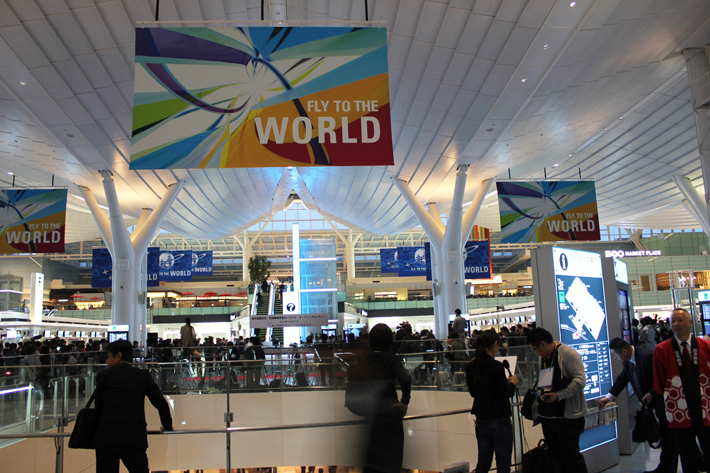 Haneda Airport New Terminal for International Flights has opened (1)