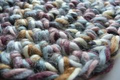 crochet beanie detail