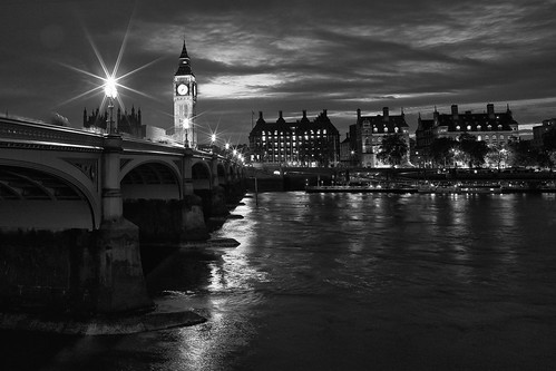Night Time In Westminster 1 of 9