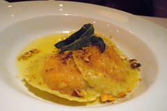 CinCin Dinner - Squash, Raviloi