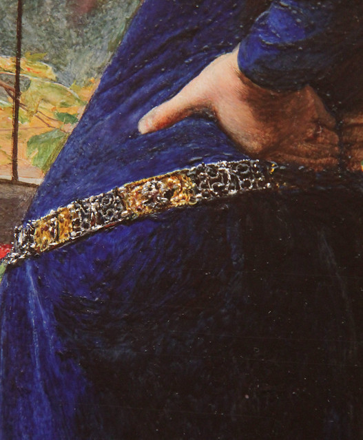 Part of Mariana, John Everett Millais, 1851