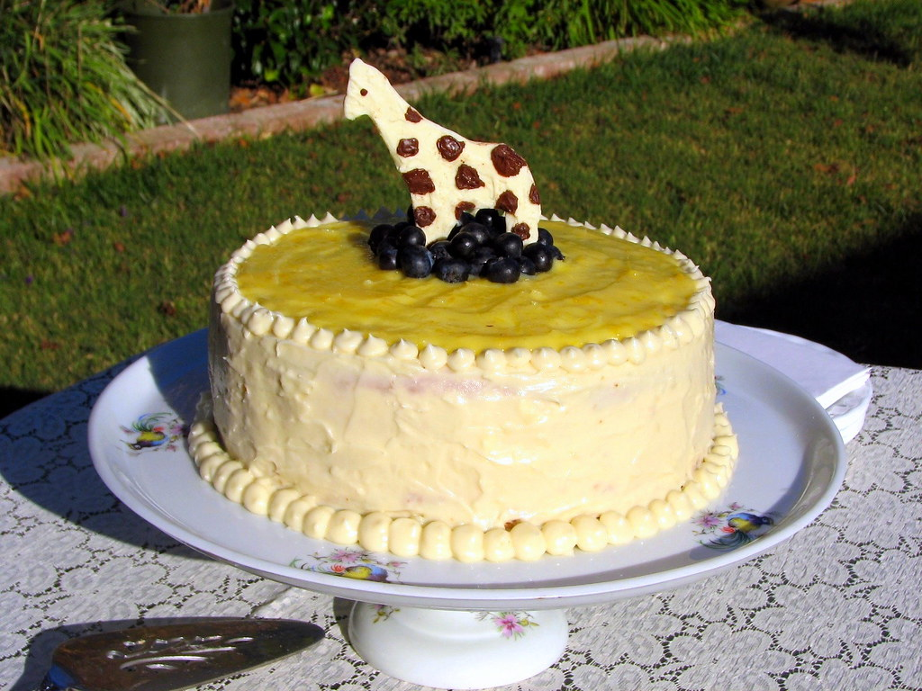 how to make a lemon sponge birthday cake