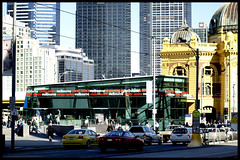 Welcome to Melbourne! (la-la-laine) Tags: city tourism australia melbourne railwaystation informationcentre melbournevisitorcentre