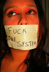 fuck it all (vanessa_pk2006) Tags: protest censorship system censura 24hoursofflickr