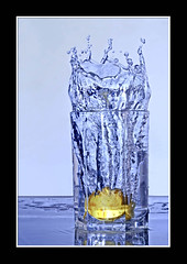 Lemon Splash (AHMED...) Tags: pakistan stilllife water glass yellow fruit lemon splash ahmed coolest sind sindh highspeed muhammad fruitsplash mehrabpur anawesomeshot goldenphotographer diamondclassphotographer flickrdiamond