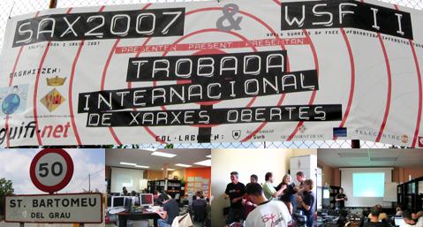 SAX2007 & WSFII