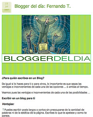 captura blogger del dia
