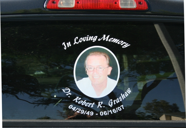 TWW Salt Life Car Decals - Window decals in memory of