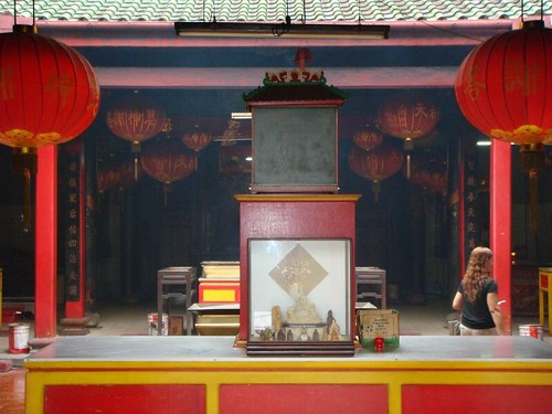 Chinese Temple. Bintan Island, Indonesia.