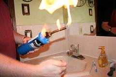 IMG_2517.JPG (drapelyk) Tags: party me bathroom fire lighter goingawayparty hangingout pyromaniac butane butanetorch