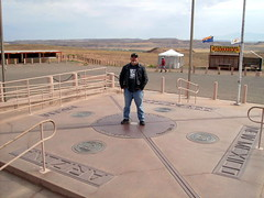 Trapped Tourist @ Four Corners