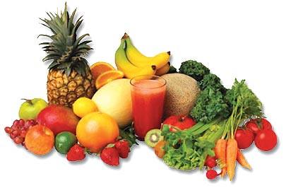 Solução simples para uma vida saudável: Frutas.