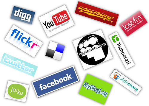 Web 2.0 Logos , Terinea social networks