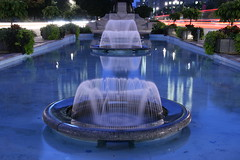Toronto's Evening  ! (Ming chai) Tags: toronto fountains universityave supershot anawesomeshot