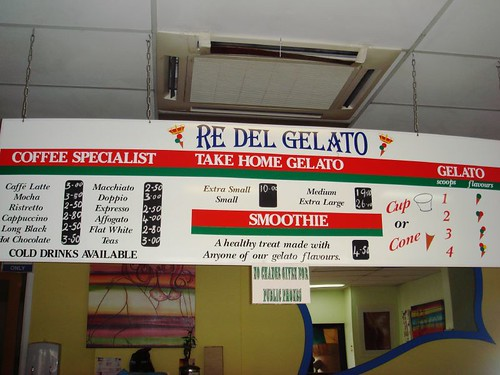 RDG menu